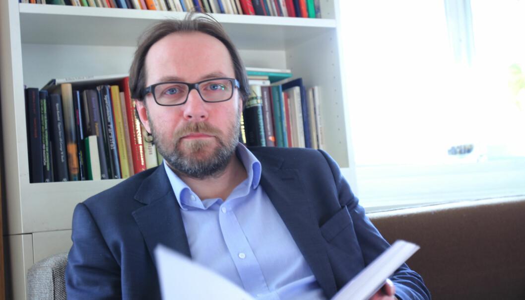 Jan Johannessen meldte seg ut når bildene til hans ansatte eller venner ble behandlet av Årets bilde-juryen. Foto: Martin Huseby Jensen