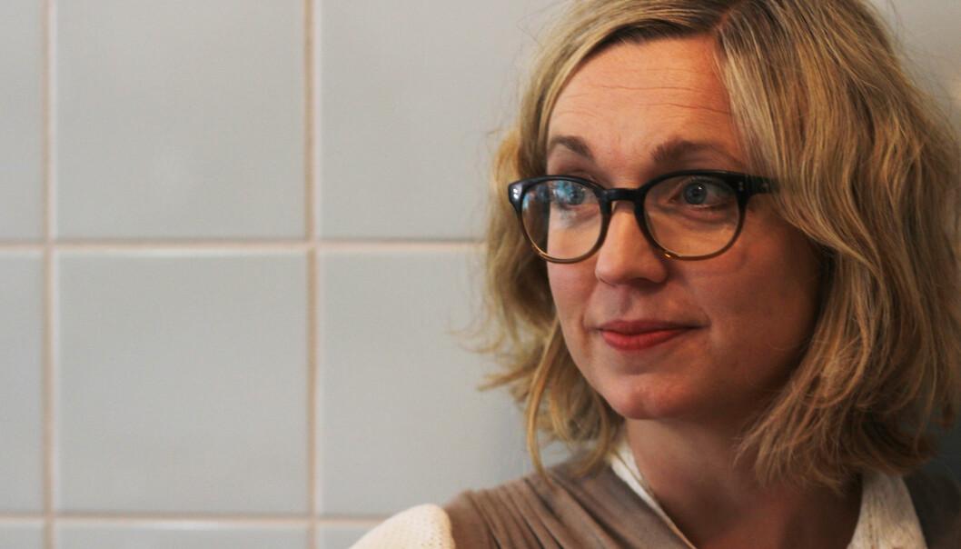 Sarah Sørheim synes utvalget har mange kloke forslag. Foto: Martin Huseby Jensen