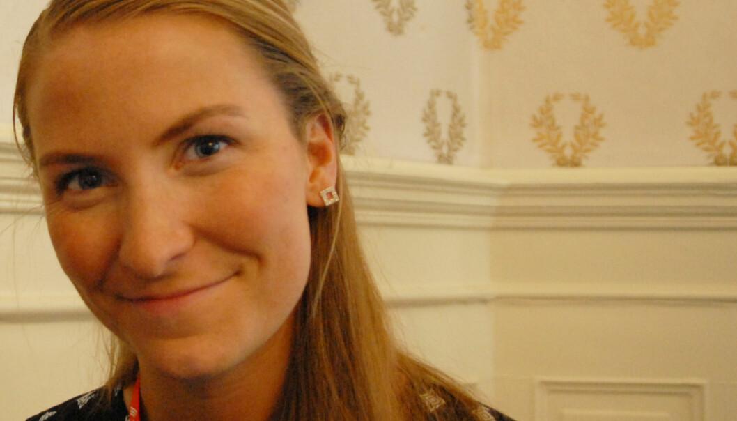 Eirin Larsen er journalist på nett og sosiale medier i NRK i Stavanger. Foto: Martin Huseby Jensen