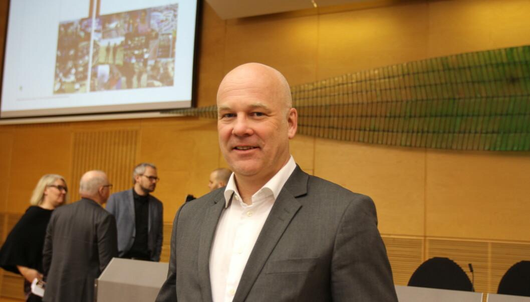 Kringkastingssjef Thor Gjermund Eriksen. Arkivfoto: Angelica Hagen
