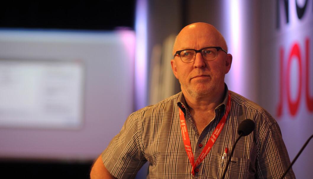 Sven Egil Omdal er tidligere leder i Norsk Journalistlag. Arkivfoto: Journalisten.