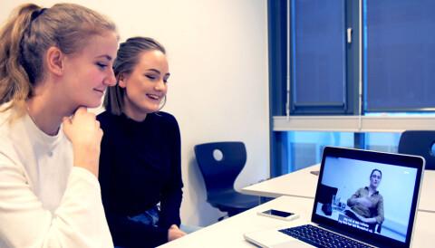 4f9d7114 (f.v.) Mari Nyhus og Marie Myrbraaten hadde ikke møtt hverandre før  Journalisten setter dem