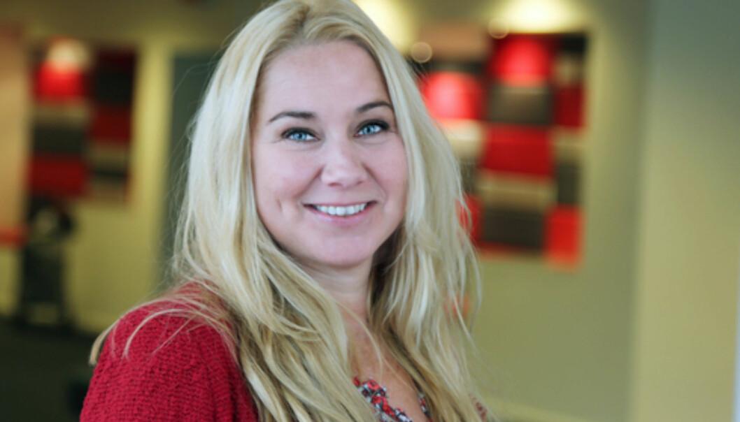 Tine Austvoll Jensen er ny sjef for Discovery Network Norge, inkludert TVNorge-kanalene. Foto: Ingerid Medhus, TVNorge