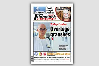 Finnmark Dagblad felt i PFU