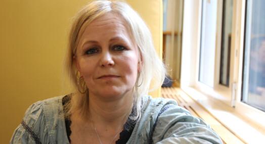 Kristin Grøntoft til kommunikasjons=avdelingen i If