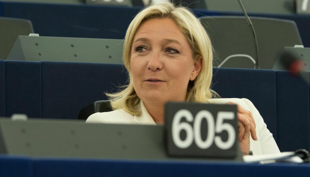 Marine Le Pen, fotofgrafert i EU-parlamentet i 2014. Olaf Kosinsky/Wikimedia Commons