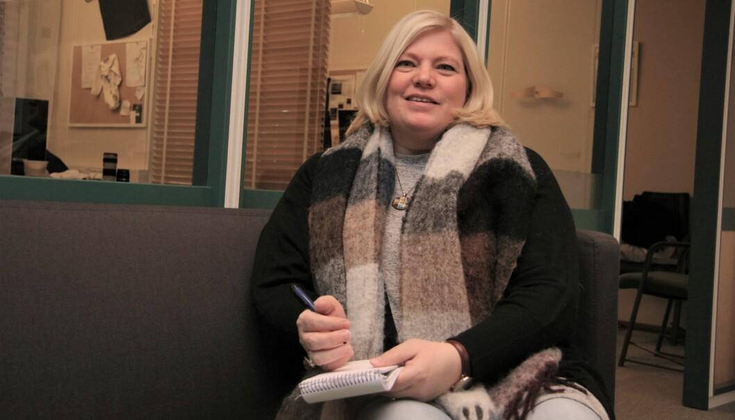 Kita Eilertsen holdt trykket i halvannet år da hun og Altaposten sørget for å endre behandlingen av psykisk utviklingshemmede elever i Finnmark. Foto: Reiulf Grønnevik, Altaposten