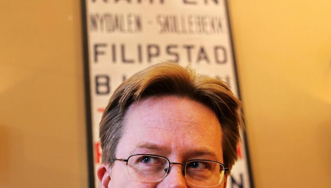 Jan Arild Snoen vil begå mer mediekritikk nå da Fritt Ord har gitt ham ekstra midler. Arkivfoto: Kathrine Geard