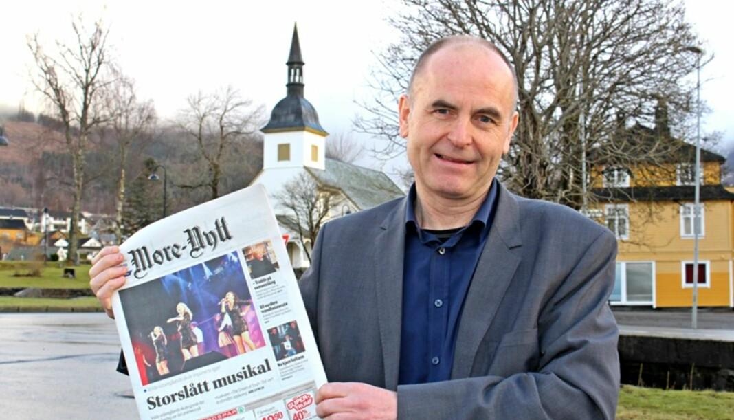 Ansvarlig redaktør Svein Aam i Møre-Nytt er overrasket over PFU-klagen fra Ørsta kommune. Arkivfoto: Møre-Nytt