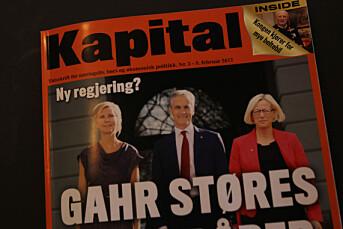 Kyrre Lien om Kapitals manipulerte forside: – Dette er noe de har sauset sammen på en datamaskin oppe på Kapital