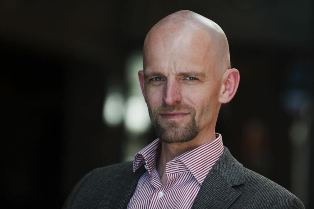 Lars Werge trakk seg søndag som leder av Dansk Journalistforbund. Foto: Dansk Journalistforbund