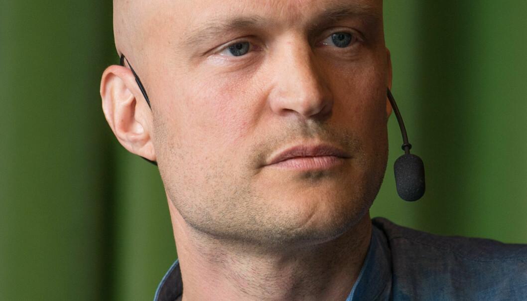 SVT-journalist Fredrik Önnevall. Foto: Frankie Fouganthin, Wikimedia Commons