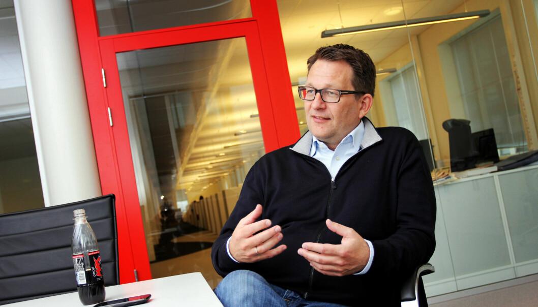 TVNorge-sjef Harald Strømme. Foto: Birgit Dannenberg