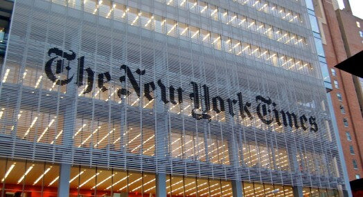 New York Times strammer inn på bruken av anonyme kilder