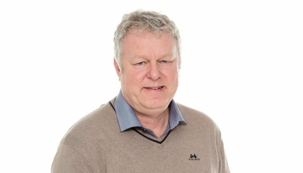Et av leserinnleggene i Halden Arbeiderblad fikk Hans-Petter Kjøge til å felle noen tårer. Foto: Amedia