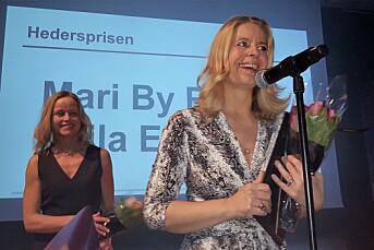 Ellingsen og By Rise - Adressas dynamiske duo - fikk Hedersprisen på Hell