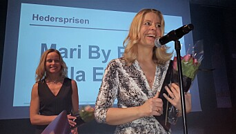 LES OGSÅ: Ellingsen og By Rise - Adressas dynamiske duo - fikk Hedersprisen på Hell