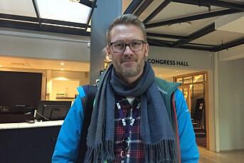 NRKs Steinar Bjørlykke er på Hellkonferansen for første gang
