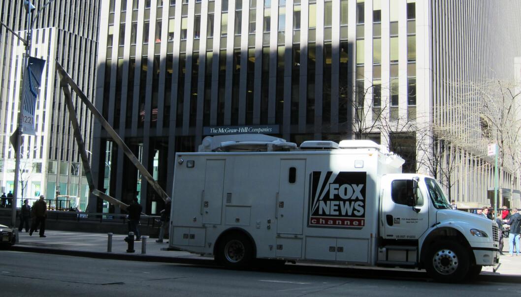 Kreml venter på en beklagelse fra Fox News. Det spørsmål hvor lenge de må vente. Foto: Martin Huseby Jensen