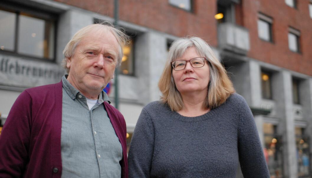 De tidligere Journalisten-medarbeiderne Leif Gjerstad og Kathrine Geard er på gata med boka