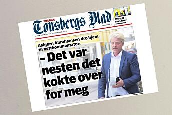 Tønsbergs Blad landet godt innenfor god presseskikk i strid om netthets