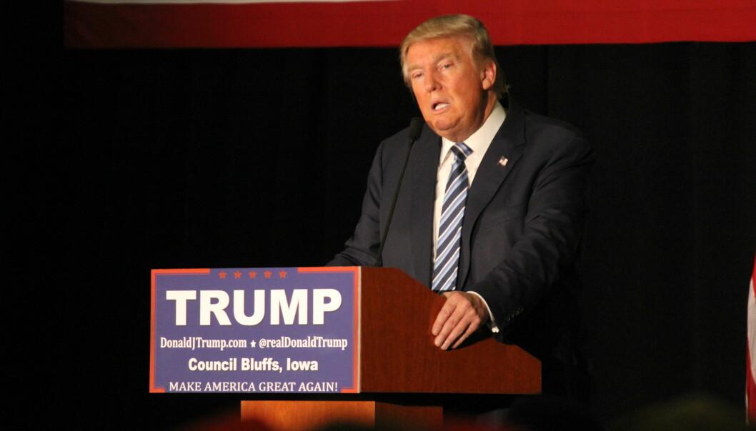 Donald Trump kaller Buzzfeed en «skraphaug» og CNN en «forferdelig organisasjon». Foto: Matt Johnson/Flickr.com