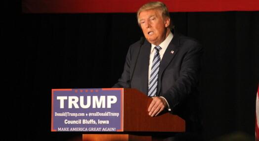 Donald Trump kaller Buzzfeed en «skraphaug» og betegner CNN som en «forferdelig organisasjon»