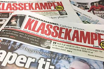 Mens flere aviser får mindre i pressestøtte, får Klassekampen og Bergensavisen mer
