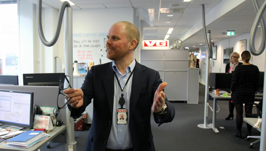 Gard Steiro mener NRK har særlig ansvar for å dekke blindsoner, om de ikke gjør det men legger seg tett på de kommersielle mediene er tankevekkende. Arkivfoto: Glenn Slydal Johansen