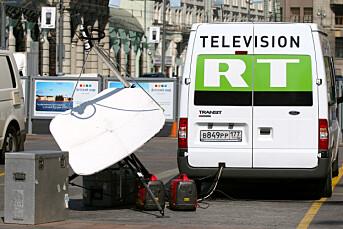 Russia Today sendt på amerikansk «stortings-TV»