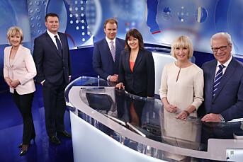 Nyhets=sendingene til TV 2 og NRK er blitt likere
