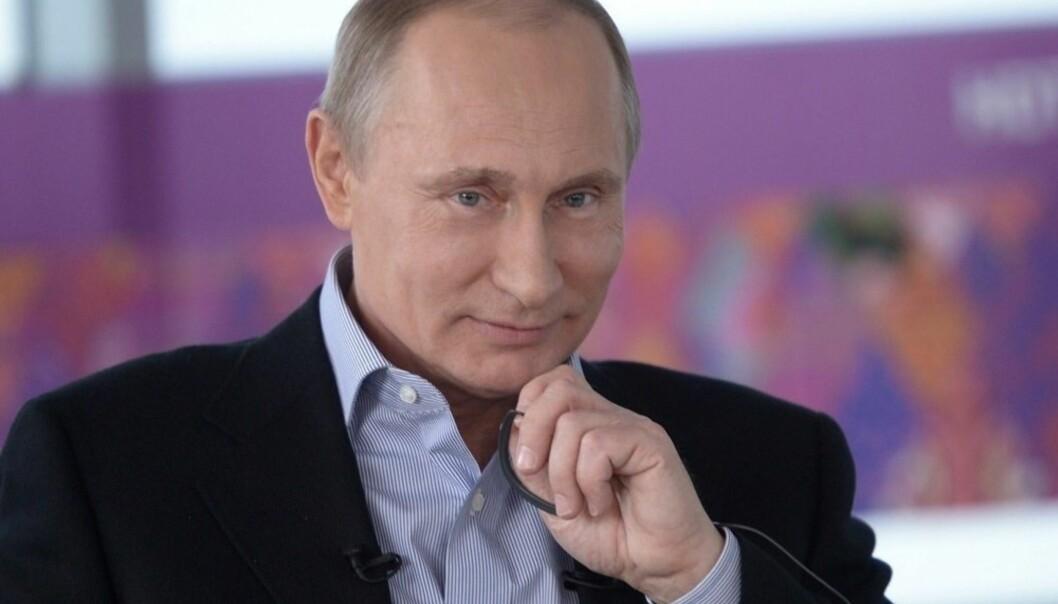 Studien viser at russisk utenrikspolitikk er blitt mer offensiv. Avbildet er Russlands president Vladimir Putin. Foto: Wikimedia commons/ Huatotakeshi.