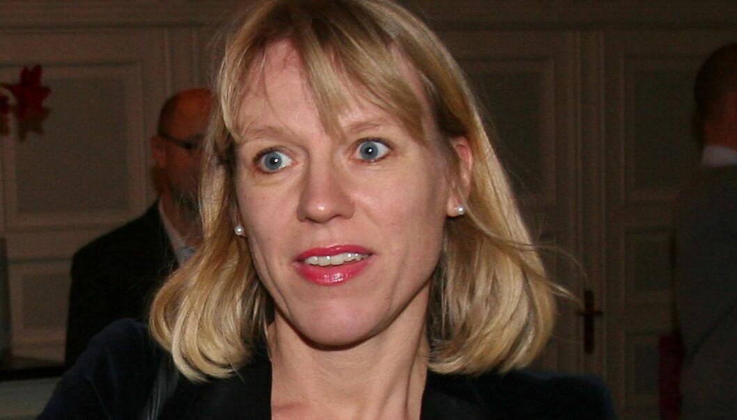 Kulturminister Anniken skal snart avgjøre om NRK får starte trafikkportal eller ikke. Foto: Glenn Slydal Johansen