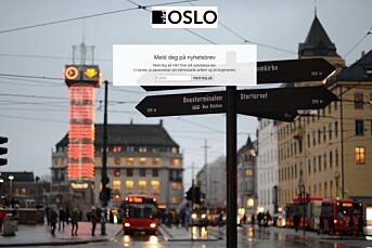 Starter nettavisen Vårt Oslo for å dekke blindsonen Oslo