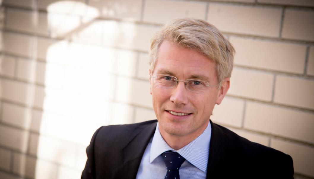 Det kan bli nye kutt i TV 2, skriver Bergens Tidende. TV 2-sjef Olav T. Sandnes avviser at det er konkrete kuttplaner. Foto: Jan-Petter Dahl / TV 2