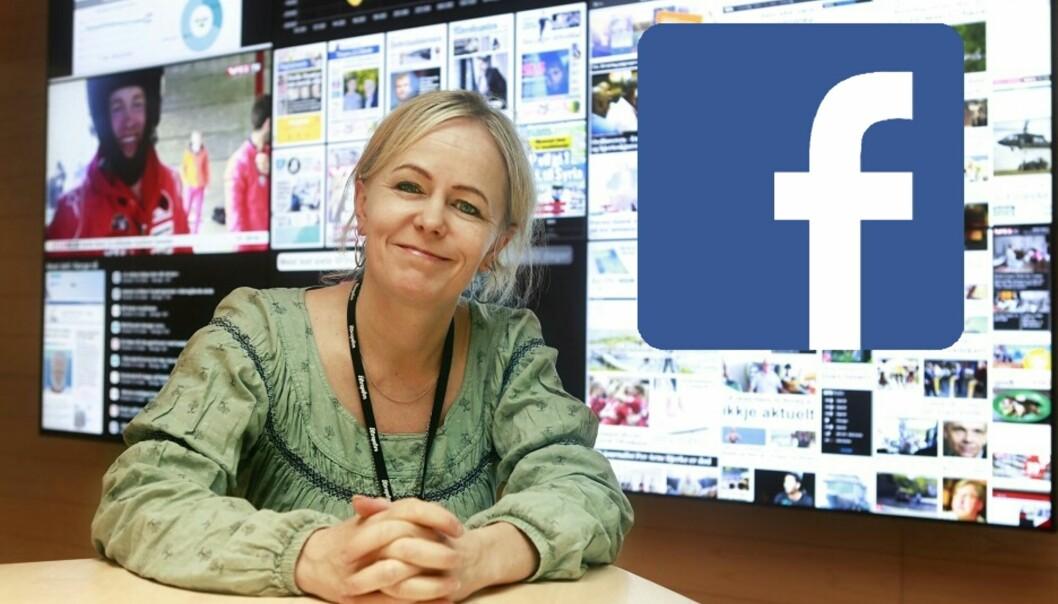 – Facebook er trolig århundrets oppfinnelse, mener Kristin Grøntoft. Hun var ansvarlig for Aftenpostens arbeid med sosiale medier fra 2013 til 1. november i år. Foto: Dan Petter Neegaard