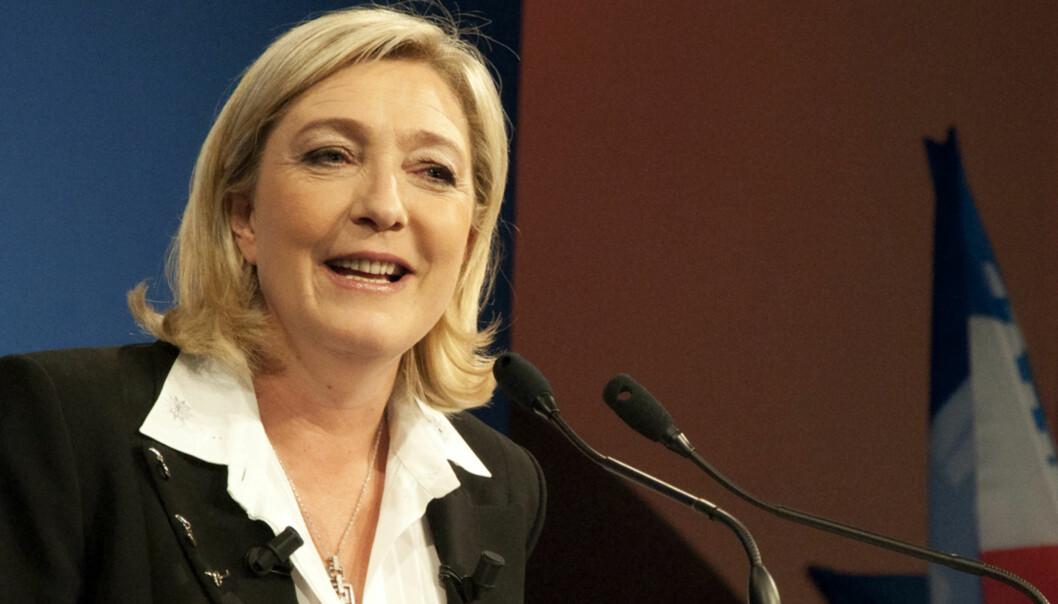 Nasjonal Fronts leder Marine Le Pen. Foto: Flickr.com/Creative Commons/Global Panorama