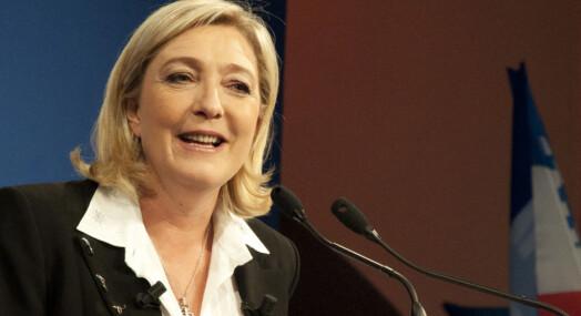 Spaltist fikk sparken for sin støtte til Marine Le Pen