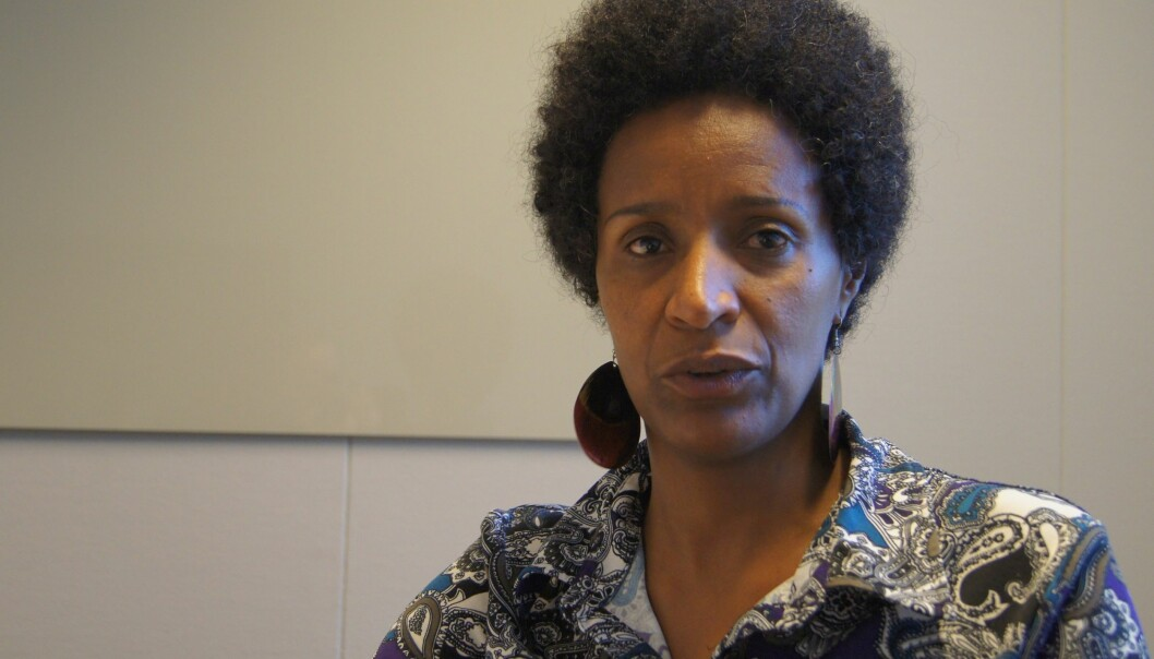 Redaktør Tsedale Lemma i den etiopiske avisen Addis Standard gjester Norge i forbindelse med en konferanse om undersøkende journalistikk. Foto: Asle Olav Rønning
