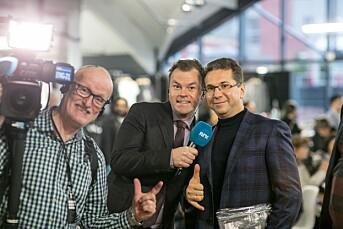 NRK-Sportens Ole Rolfsrud liker seg best på jobb når alt går til helvete