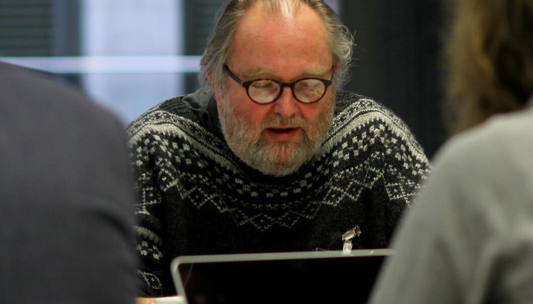 Frilanser Toralf Sandåker er en av to landsstyremedlemmer som har krevd en redegjørelse om Pressens hus. Foto: Martin Huseby Jensen