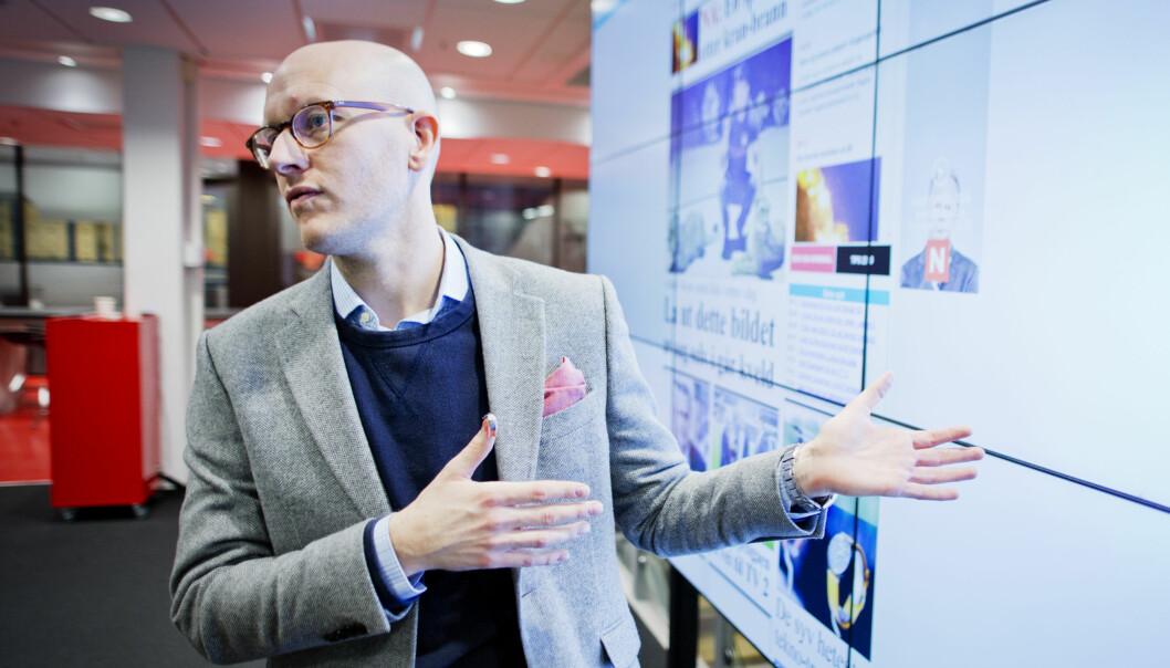 VGs digitalredaktør Ola Stenberg. Foto: VG