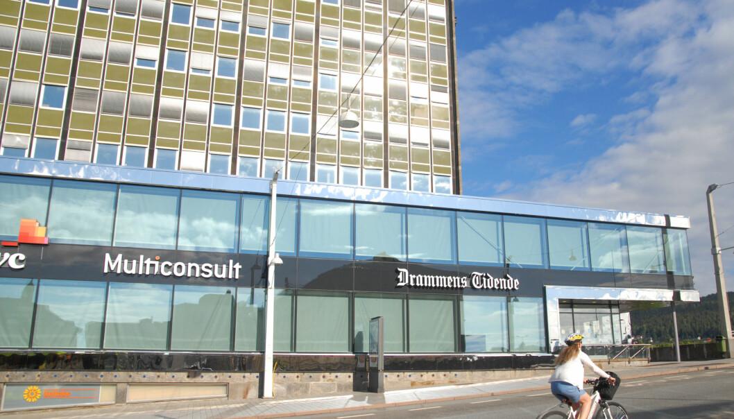 DT svarer med at de har drevet journalistikk. Foto: Martin Huseby Jensen.