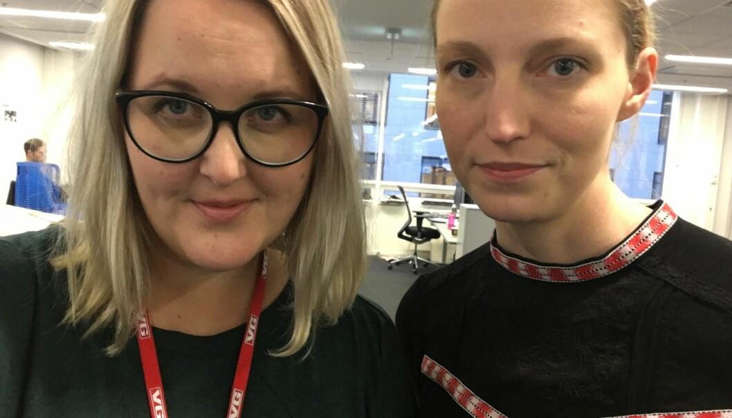 Synnøve Åsebø og Mona Grivi Norman har jobbet med beltelegginger på norske sykehus over lang tid. Foto: Synnøve Åsebø.