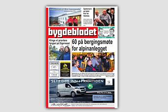 Etter 40 år dropper Bygdebladet lørdagsutgaven