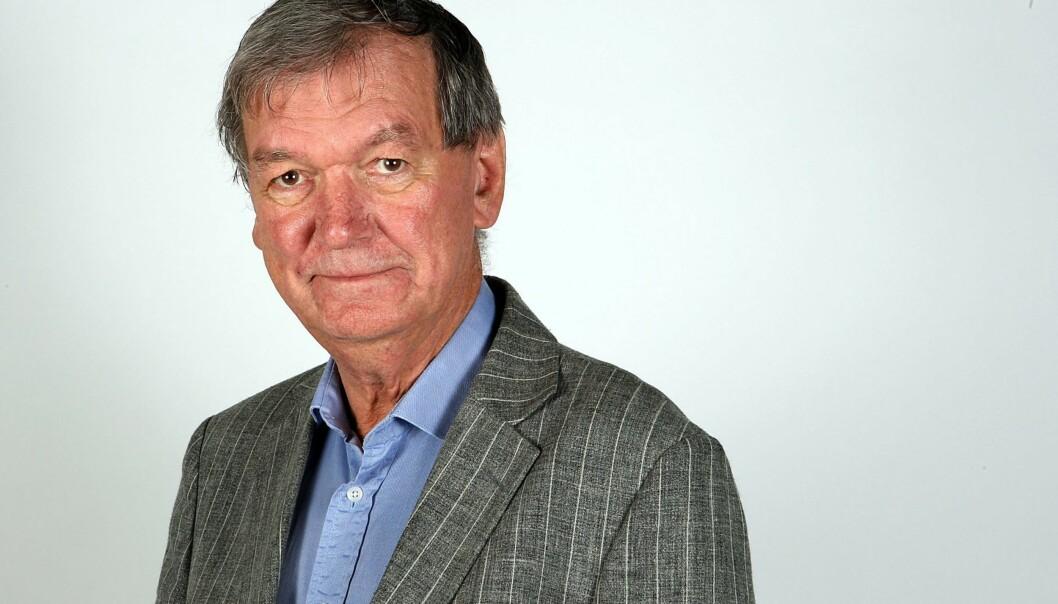Steinar Torgrim Brox var kommentator i Romerikes Bladi 40 år. Foto: Romerikes Blad.