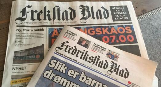 Expert kopierte Fredriksstad Blad i reklameavis. Russeavis, mener Réne Svendsen