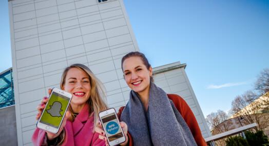 NRK Nyheter vil nå yngre brukere med Snapchat