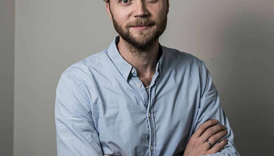 Kulturredaktør Geir Ramnefjell. Foto: Lars Eivind bones