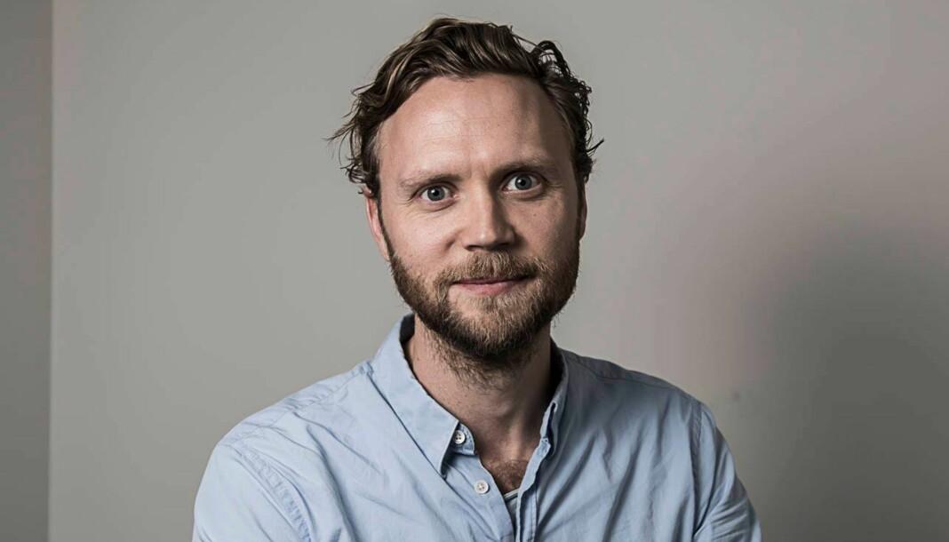 Geir Ramnefjell forlater jobben som kulturredaktør i Dagbladet. Foto: Lars Eivind bones